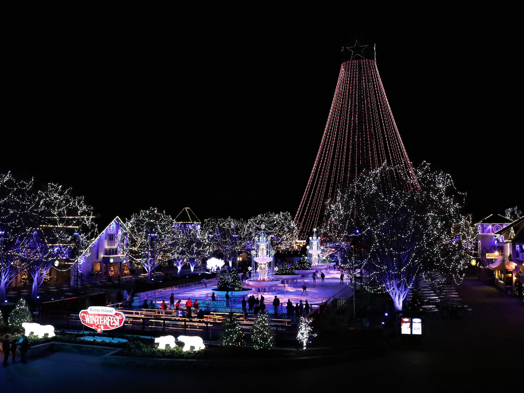 Winterfest Then till Now - Opening Night Info - Kings Island Central ...