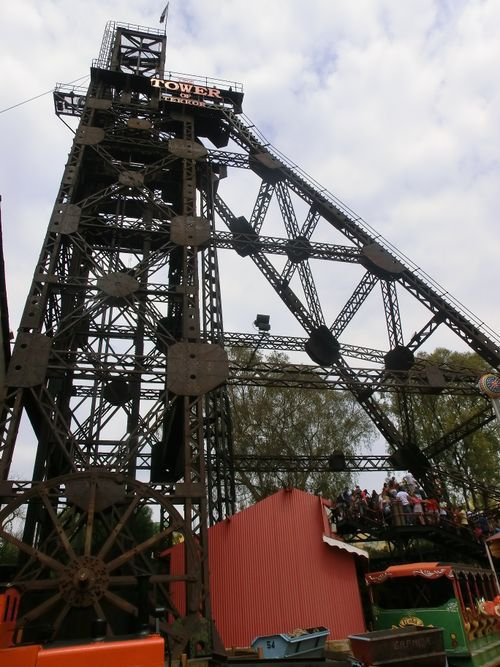 Image result for tower of terror coaster