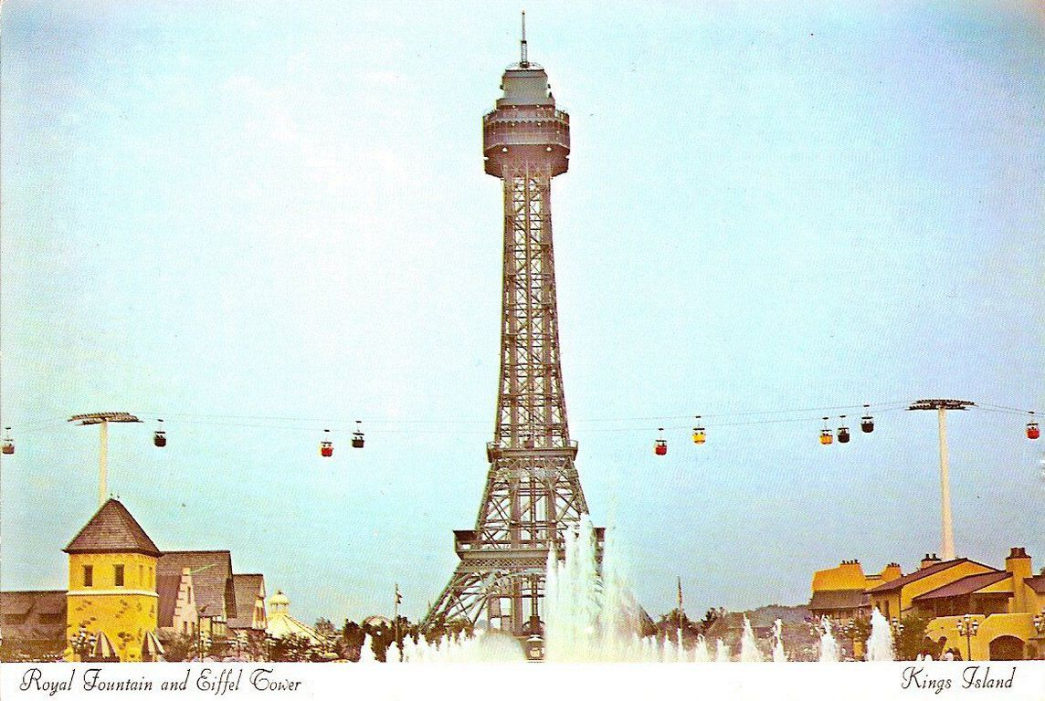 Image result for kings island eiffel tower
